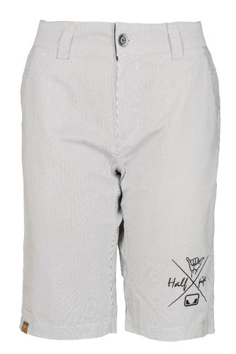 HP Stripe Shorts wht / blk